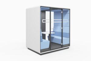 Autre exemple de cabine autonome